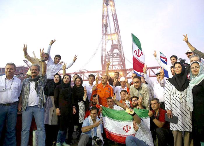 إيران تشعل السباق مع قطر لاستغلال حقل الغاز المشترك