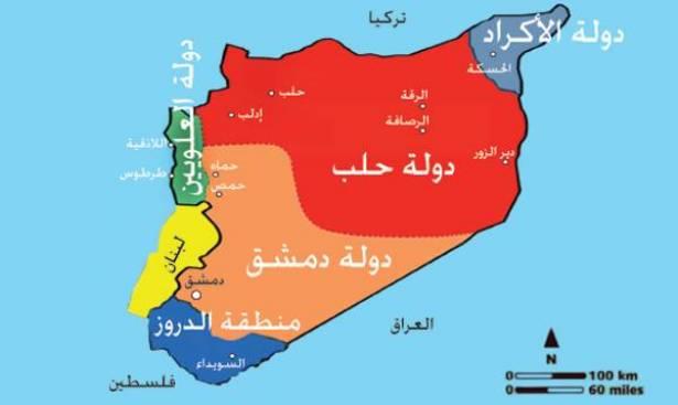 تغيّر الشعار والهدف ثابت: تقاسم سوريا