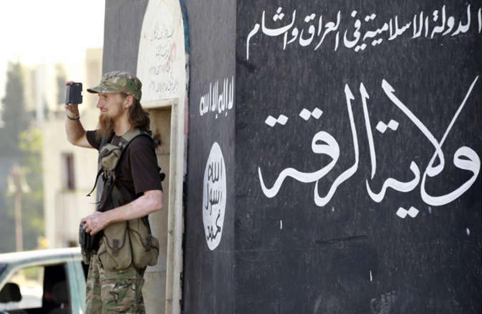 عن إنهاء داعش في سورية