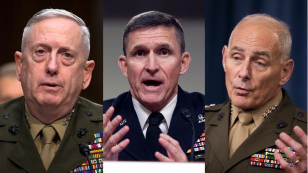 جنرالات ترامب وإيران وسورية واليمن