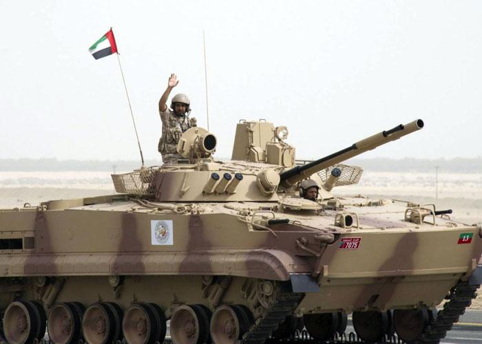 القوات الإماراتية تحتفل بذكرى توحيدها