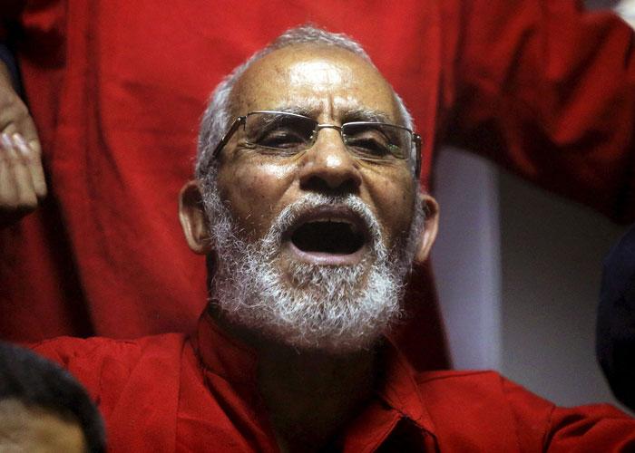 حكم جديد بالمؤبد على المرشد العام للإخوان المسلمين