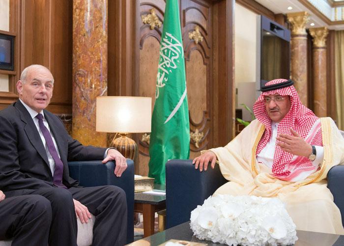 محادثات أمنية تمهد لزيارة ترامب للسعودية