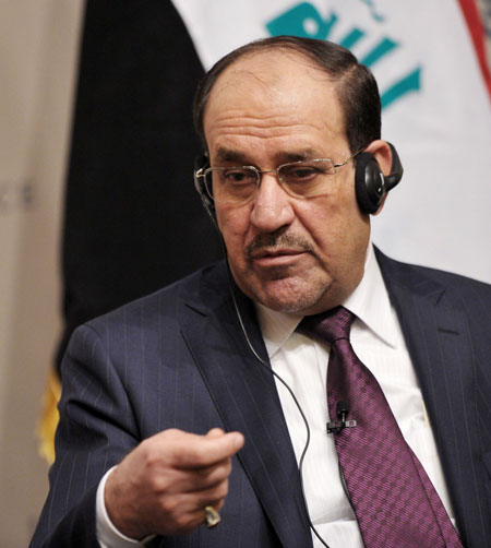 Shiite Maliki thwart a bid for prime minister in Iraq