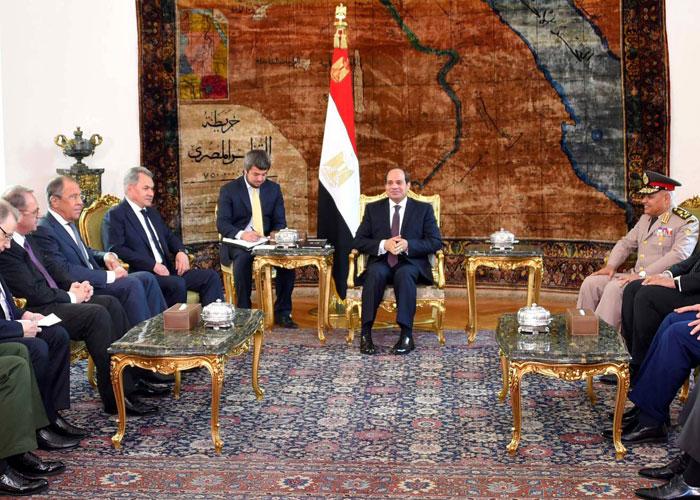 شويغو ولافروف بالقاهرة لتدارك الفتور في العلاقات الروسية المصرية
