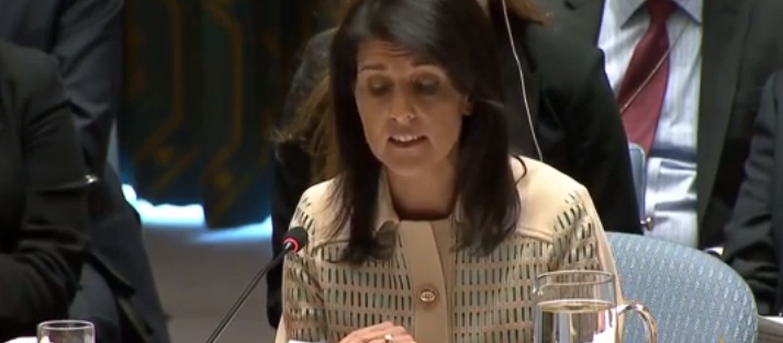 هيلي: عشرات الآلاف يتعرضون لفظاعات بسجون الأسد