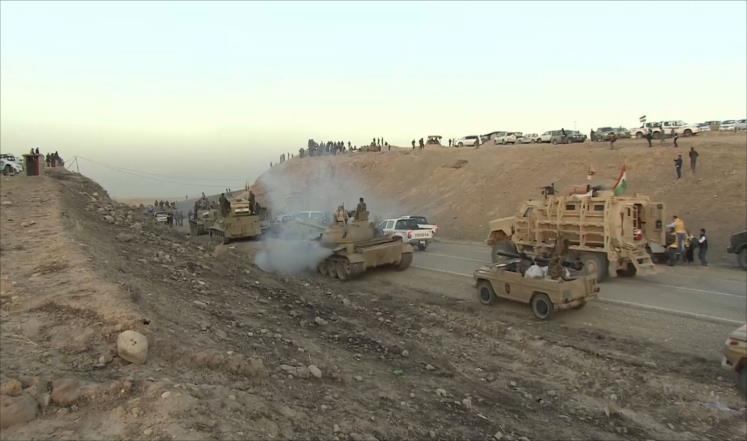 الحشد يعلن مقتل 50 من تنظيم الدولة بالقيروان