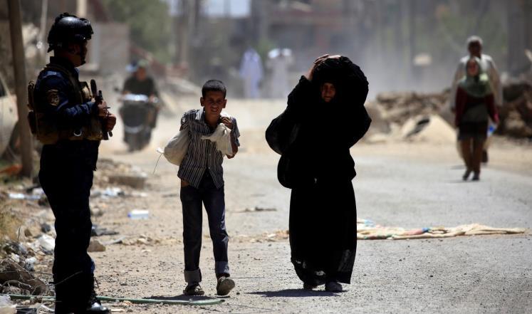 قلق دولي حيال الوضع الإنساني بالموصل