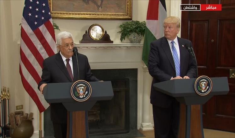 تفاؤل حذر بنتائج لقاء عباس ترمب
