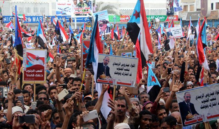 التحضير لمليونية دعم المجلس الانتقالي في عدن