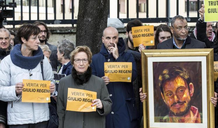 مصر تسلم إيطاليا مستندات مطلوبة عن ريجيني