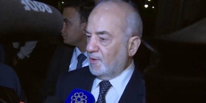 وزير الخارجية العراقي: نرفض السياسات المعادية لإيران