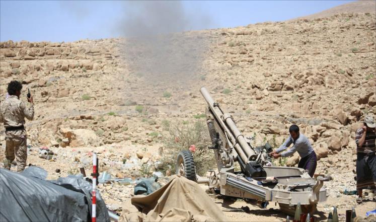 معارك عنيفة شرق صنعاء وقتلى بتعز
