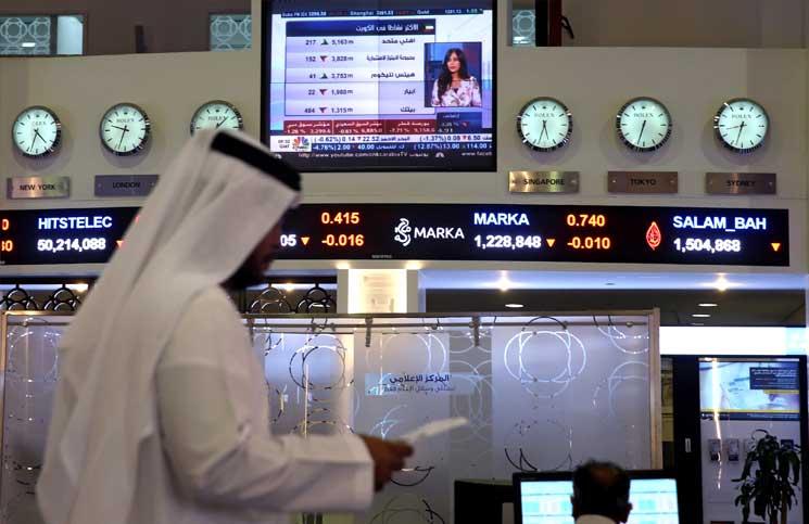بورصات الخليج تتراجع مع قلق المستثمرين من أزمة قطر… وسوق مصر تواصل الصعود