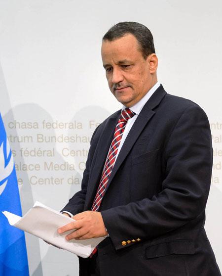 ولد الشيخ يتشبث بموقعه في قيادة الجهود الأممية باليمن