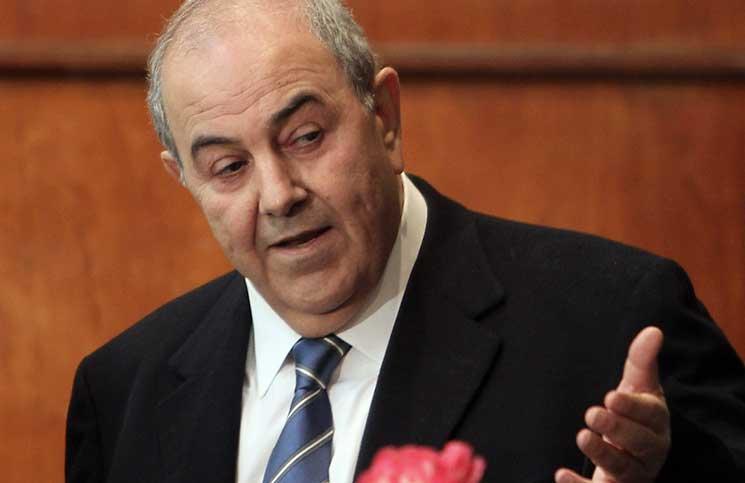 علاوي: سأزور كردستان لمعرفة أبعاد الاستفتاء