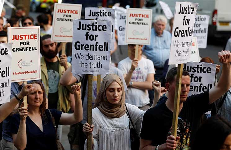 ضحايا حريق لندن المسلمون: قصة مدينتين؟