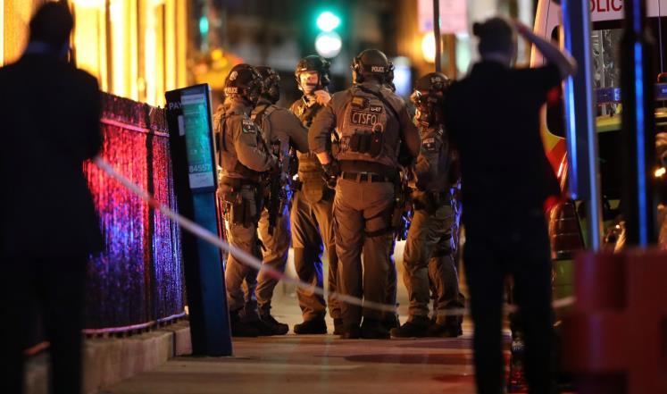 حادثا دعس وطعن بلندن والشرطة تعتبرهما إرهابيين