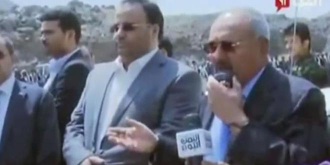 صالح يدعو أنصاره والحوثيين لمواصلة القتال