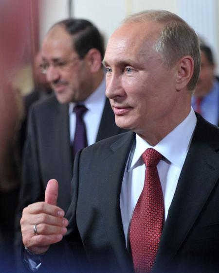 نوري المالكي يعرض على روسيا دوره في 'محور الممانعة'