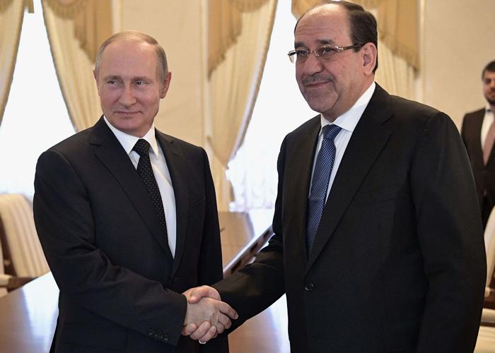 المالكي يعرض على روسيا تواجدا عسكريا في العراق