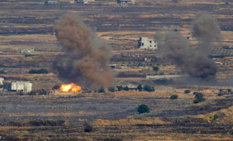 إسرائيل استهدفت موقعا للجيش السوري