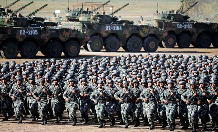 الرئيس الصيني يؤكد استعداد بلاده للتصدي لأي اجتياح