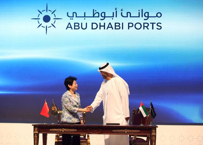الشركات الصينية تراهن على أبوظبي كبوابة لأسواق المنطقة