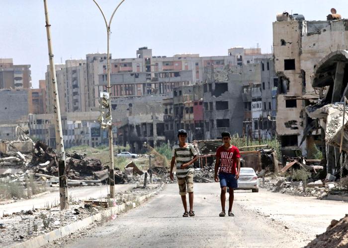 الصابري الليبية تتطلع لإعادة الإعمار