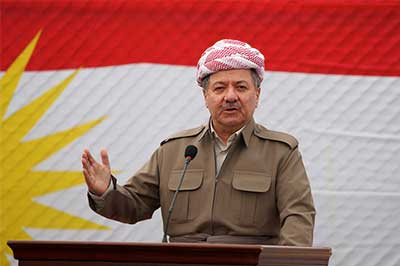 بارزاني: لن نؤجل الاستفتاء على استقلال كردستان تحت أي ضغط وبغداد خرقت الدستور
