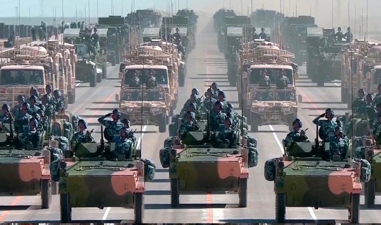 لمن تحشد الصين جيشها؟