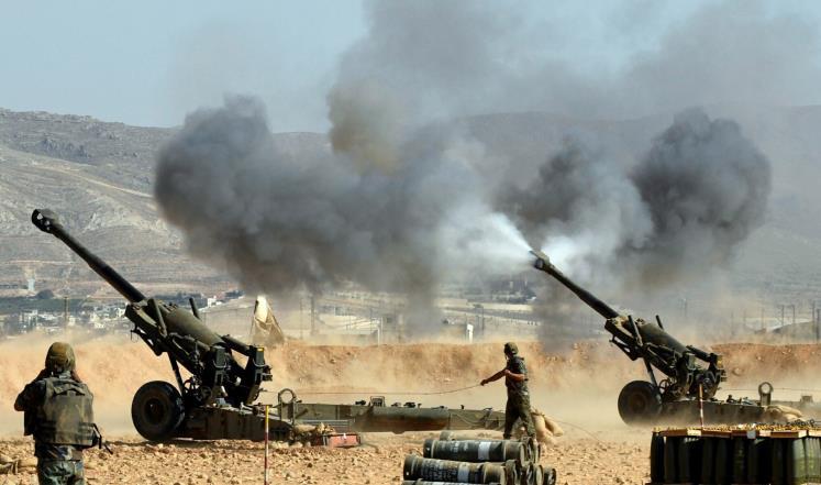 الجيش اللبناني يستعيد أراضي من تنظيم الدولة بالجرود