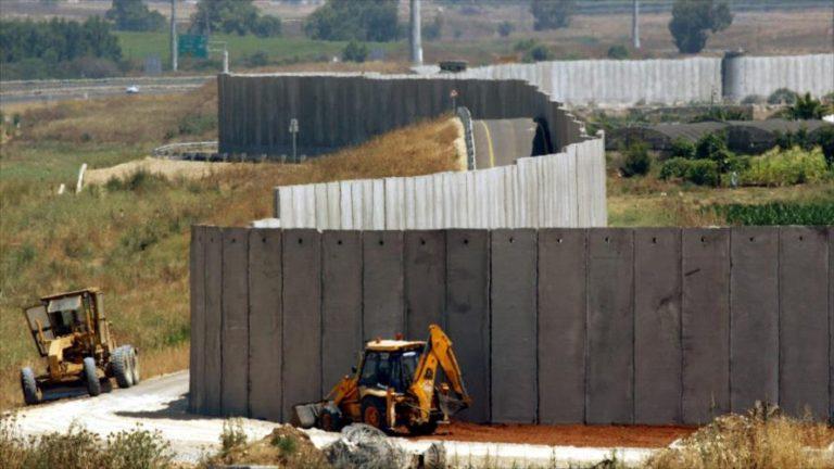 ستة جدران تعزل إسرائيل