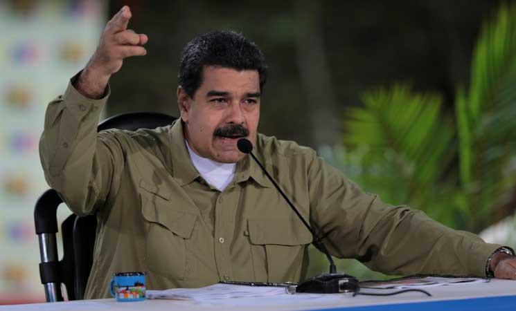 """الرئيس الفنزويلي يصف الهجوم على قاعدة عسكرية بـ""""العمل الإرهابي"""""""