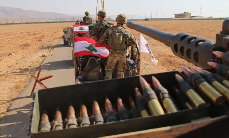 الجيش اللبناني يعلن بدء المعركة لطرد تنظيم الدولة من شرق البلاد
