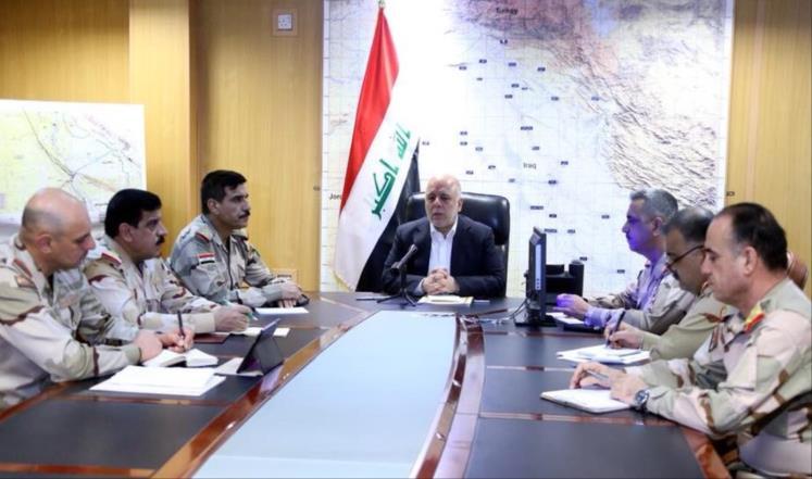 العبادي يرفض التفاوض مع الأكراد بشأن الاستفتاء