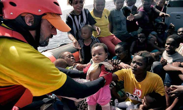 اليونيسيف: المهاجرون من منطقة أفريقيا جنوب الصحراء يواجهون أعلى مستويات المخاطر