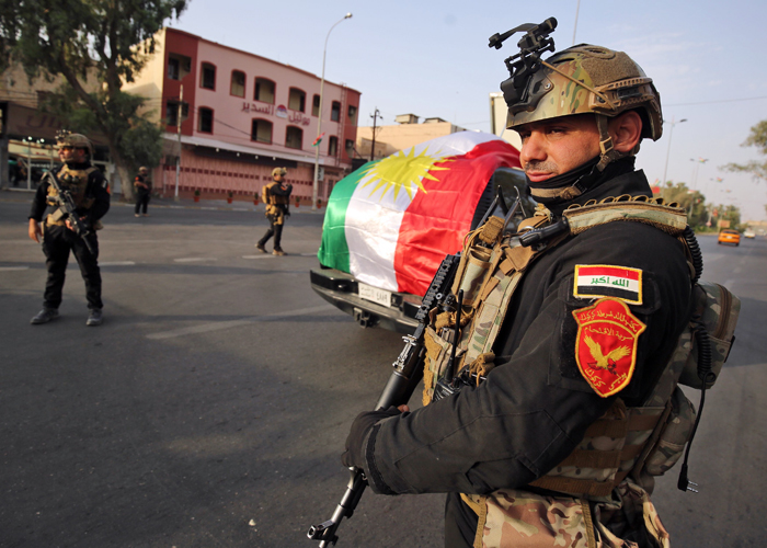 بغداد تُعدّ لنشر قواتها في كركوك وتنسّق مع أنقرة وطهران لمحاصرة الأكراد