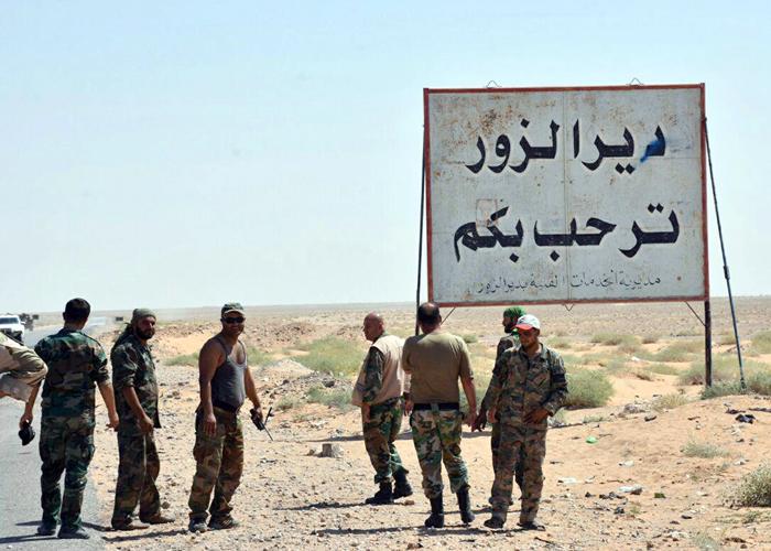 الجيش السوري يقترب من فك الحصار عن دير الزور