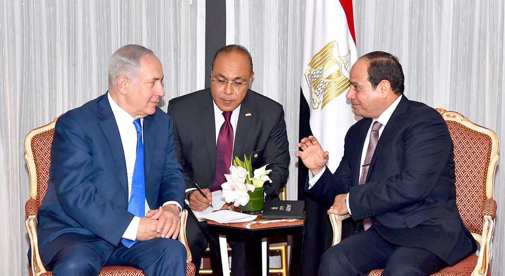 السيسي يستأنف جهود السلام بلقاء نتنياهو