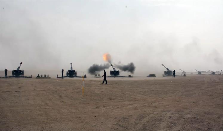 الجيش العراقي يتقدم في الشرقاط والأنبار