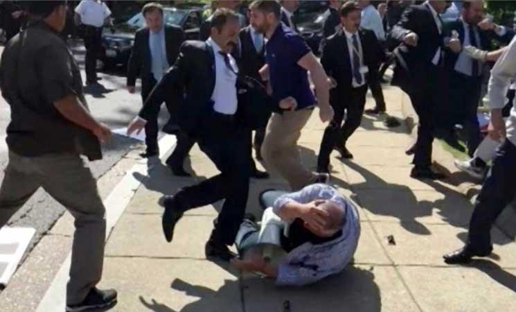 واشنطن تجمد بيع الأسلحة إلى حرس أردوغان الشخصي