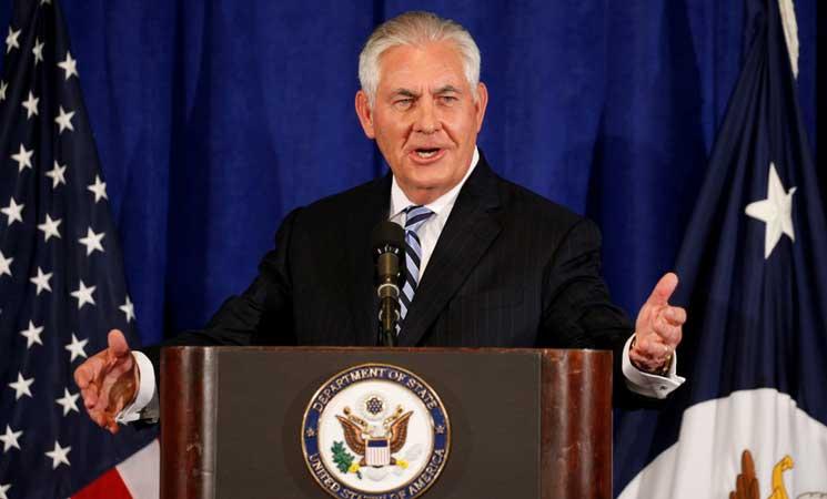 """تيلرسون: لدينا """"مشاكل هامة"""" مع الاتفاق النووي الإيراني"""