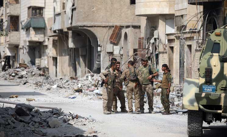 قوات سوريا الديمقراطية تسيطر على 90 في المئة من مساحة الرقة