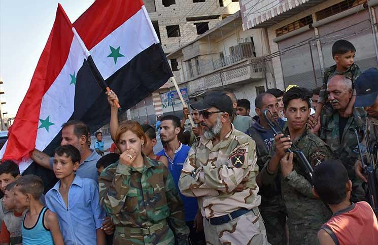 قائد عسكري سوري يهدد اللاجئين: «نصيحة من هالدقن لا حدا يرجع»