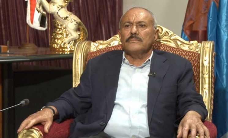 صالح ينفى وجود أي خلافات بين حزبه والحوثيين أو ارتباطه بتحالفات خارجية