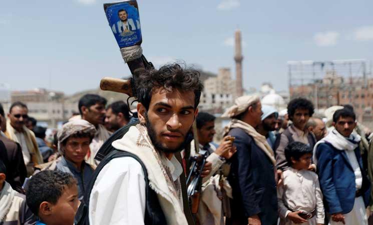 """الحوثيون يدعون لإحياء الذكرى الثالثة لسيطرتهم على """"صنعاء"""" قرب منزل """"صالح"""""""