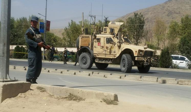 قتلى وجرحى بهجوم تبنته طالبان غربي كابل