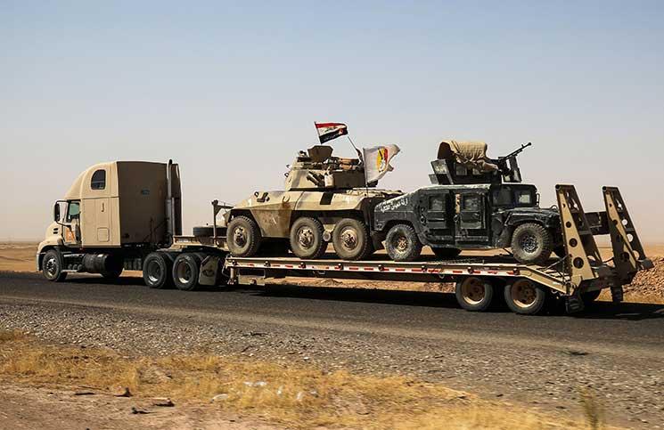 محافظة نينوى خالية من «الدولة الإسلامية» بعد استعادة القوات العراقية ناحية العياضية