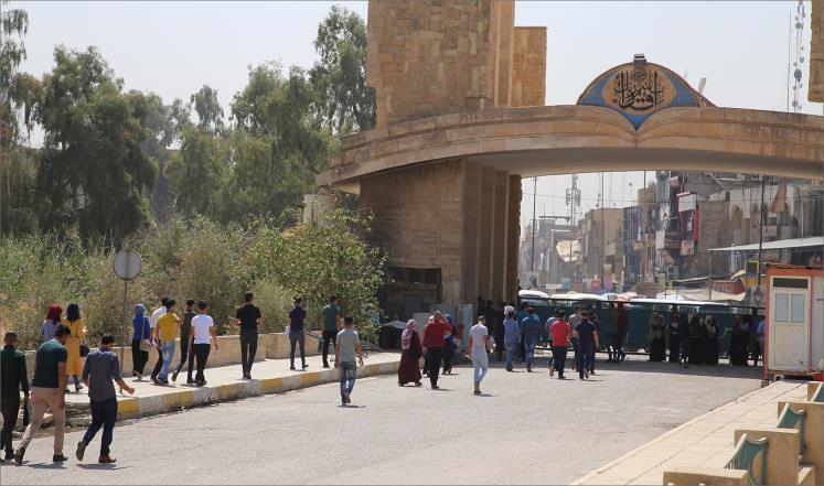 الحياة تعود إلى جامعة الموصل رغم الدمار الكبير
